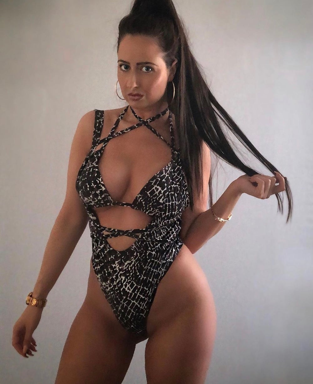 Image of Strappy Swimsuit