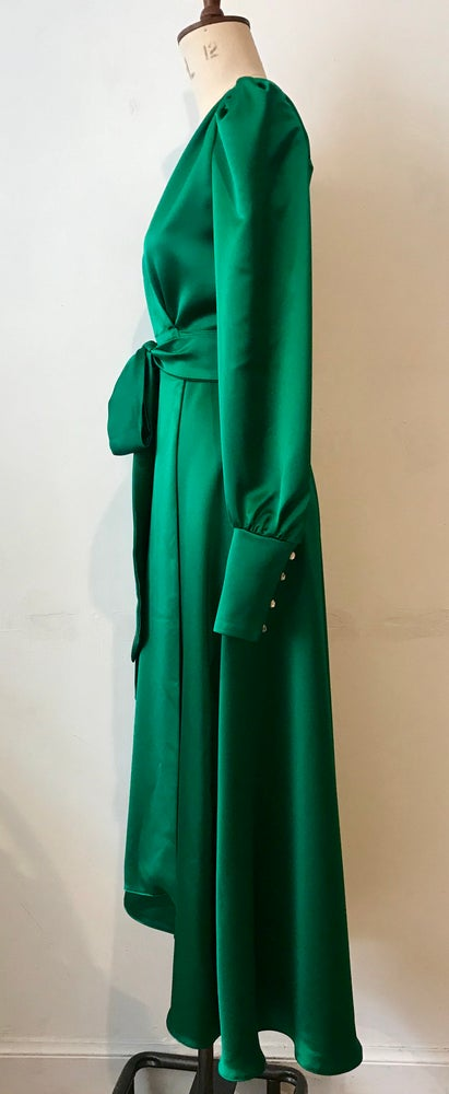 Image of Esmeralda wrap dress