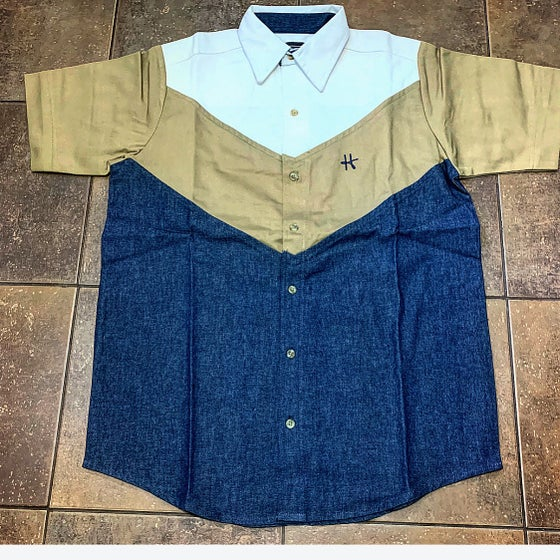 Image of HotBread collegiate button up