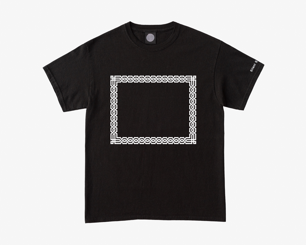 Image of S/S Empty Frame Tee - Black / White
