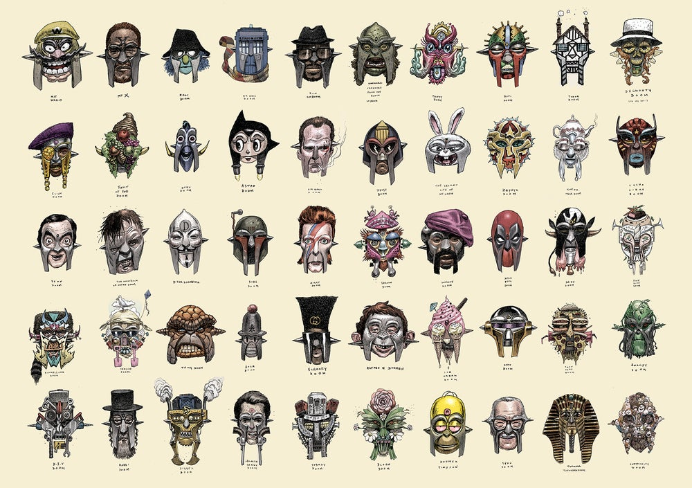 Image of 50 Faces of DOOM part 2