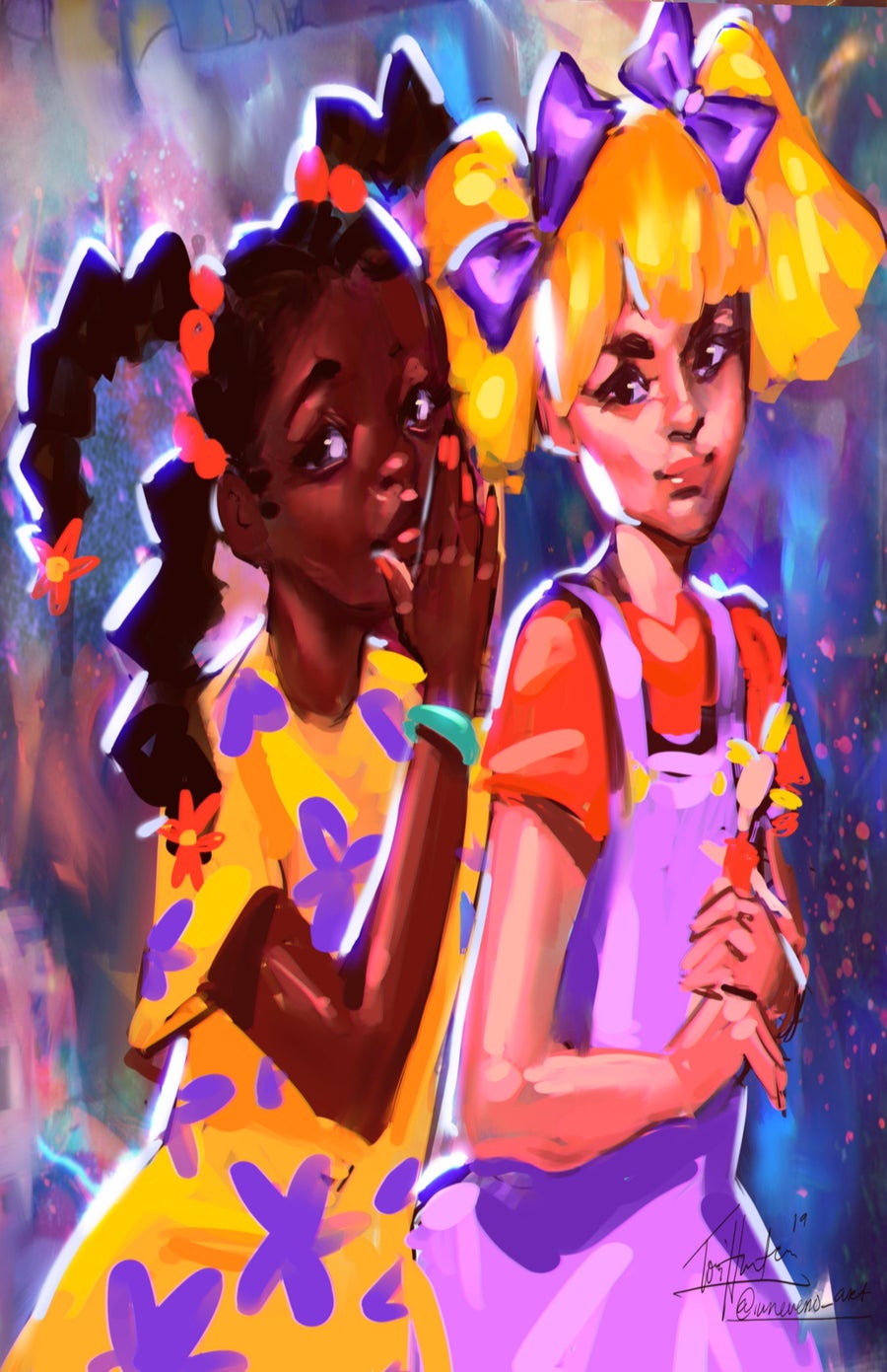 Image of Susie Carmichael and Angelica Pickles