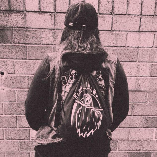 Image of Within Shadows Reaper Cinch Bag