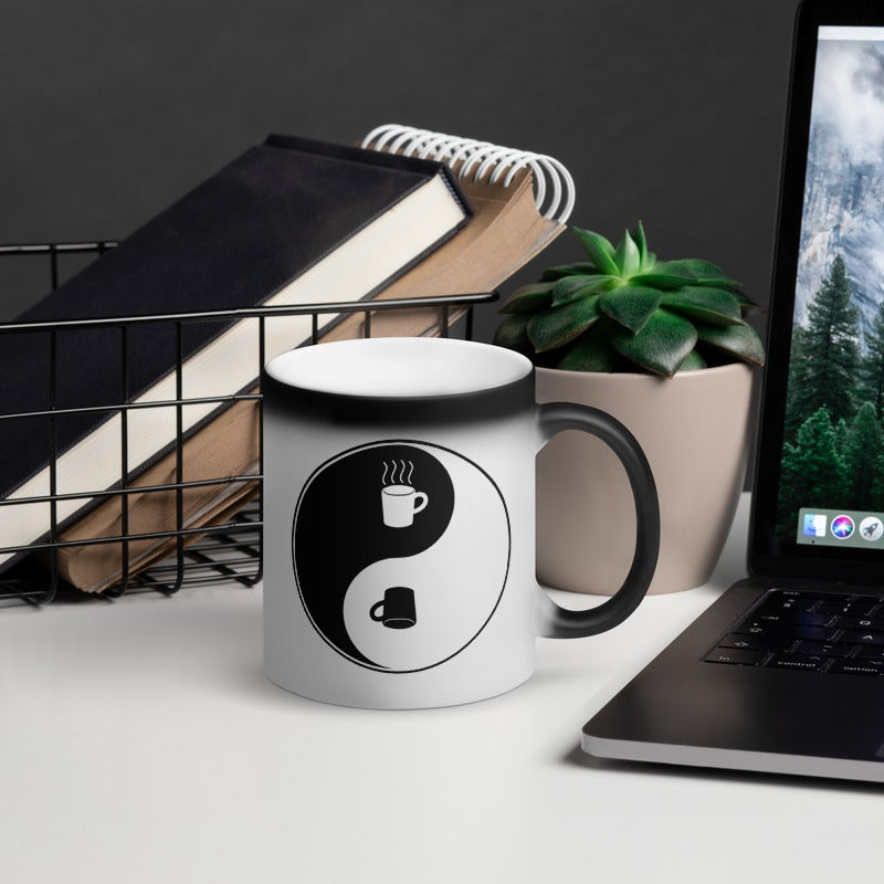 Image of Color-changing Yin Yang Mug