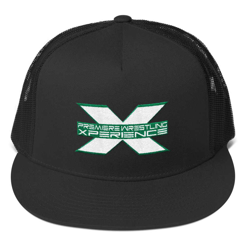 Image of PWX Logo Trucker Hat (Logo color choice)