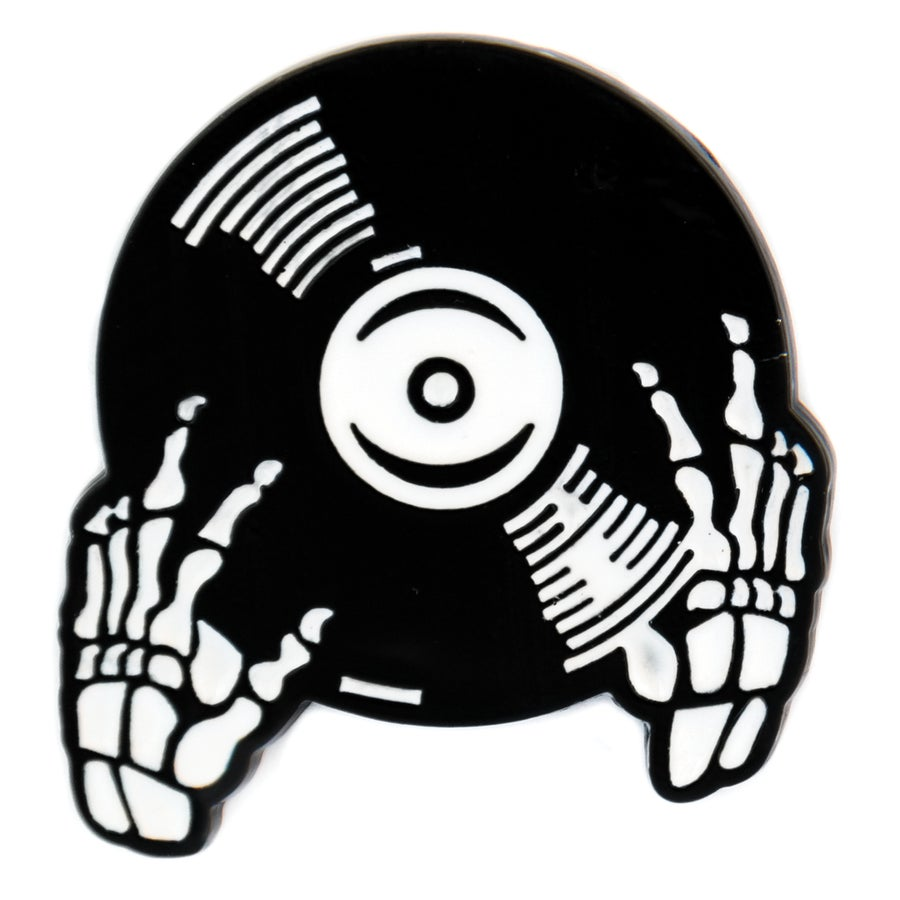 Image of DJ Skelly Pin