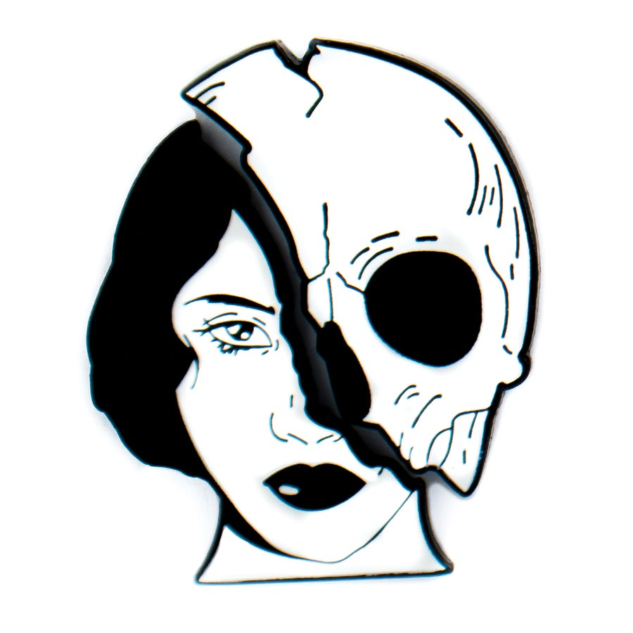Image of Two Face Pin