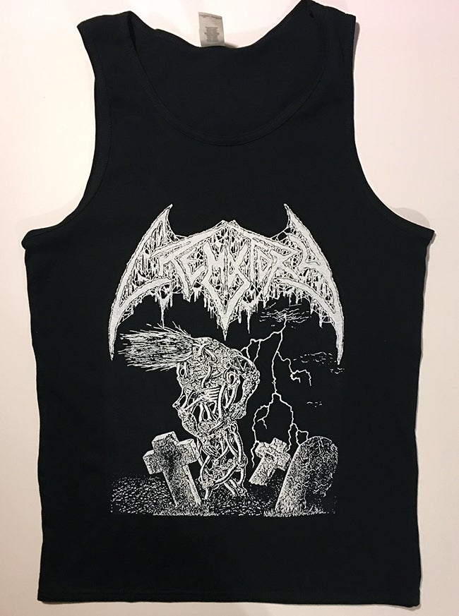 "Image of Crematory "" Wrath From the Unknown "" Tank top T shirt"