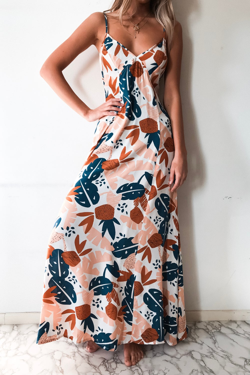 Image of VERADO MAXI DRESS - DESERT SUN
