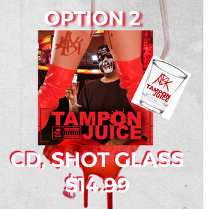 """Image of *PRE-ORDER* """"TAMPON JUICE""""-LIMITED EDITION COVER- OPTION 2"""