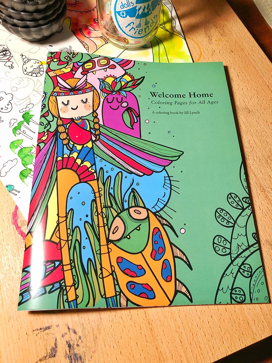 Image of Welcome Home Coloring Book