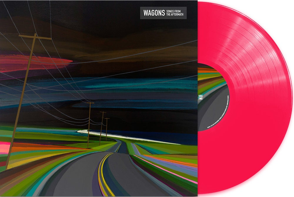 "Image of Wagons ""Songs From the Aftermath"" (LP - preorder)"
