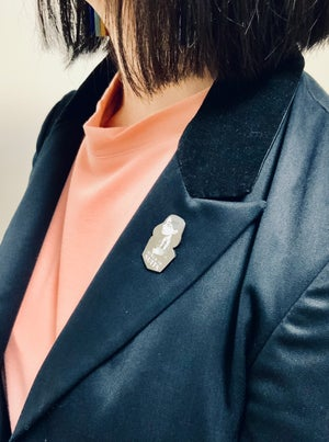 Image of Girls In Suits Enamel Pin