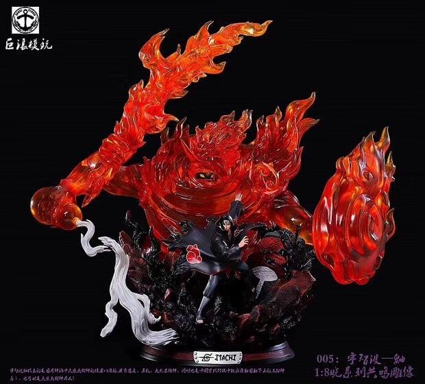 Image of [Pre-Order] Naruto Surge Studio Itachi Resin Statue