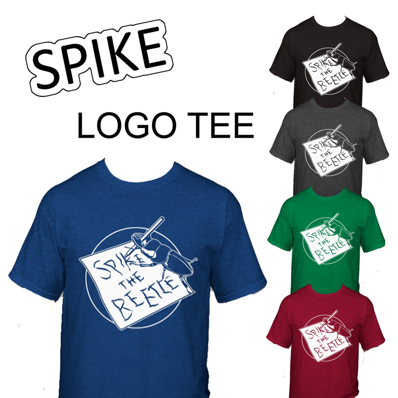 Image of Spike the Beetle Logo Tee