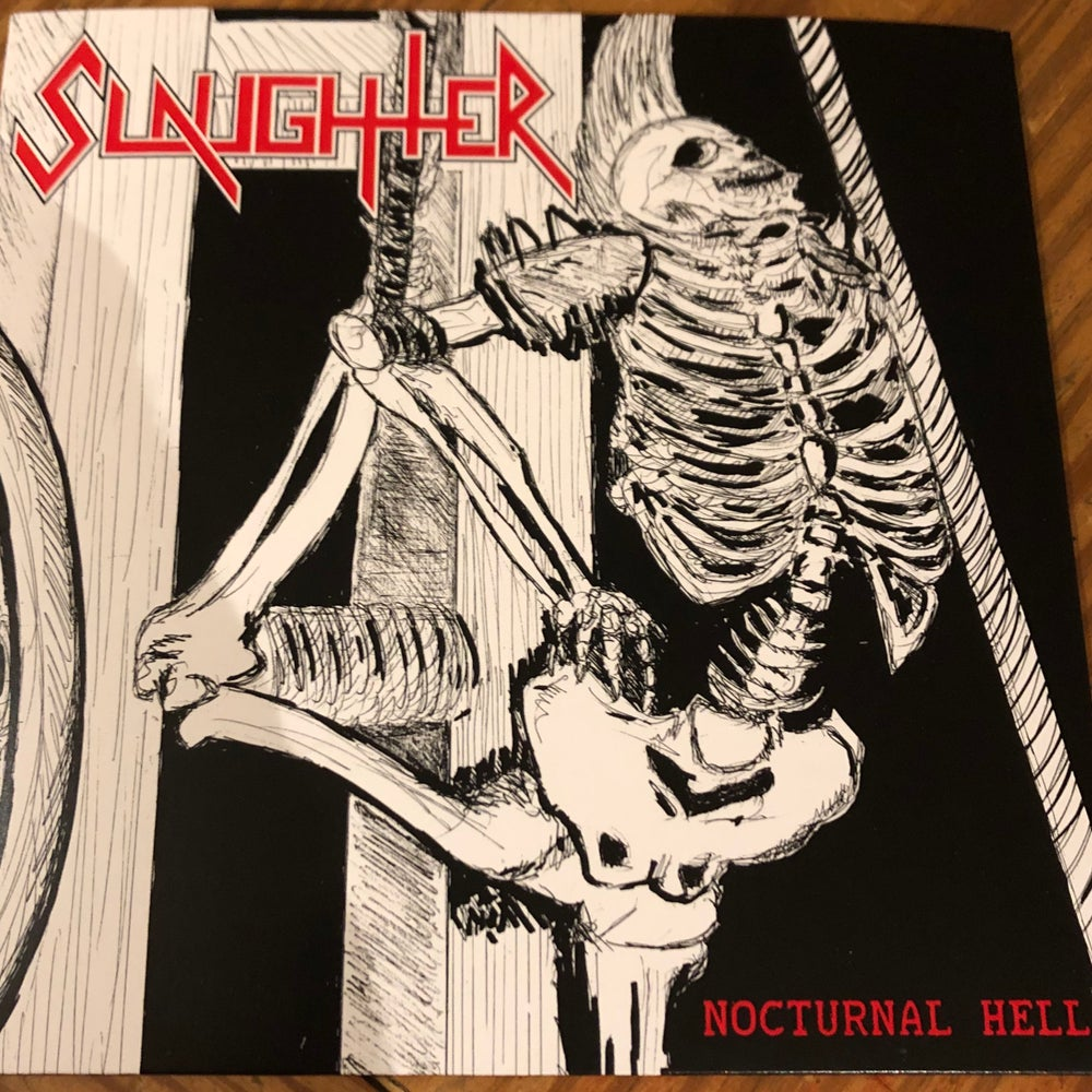 Image of SLAUGHTER - Nocturnal Hell EP POSTPAID IN USA/CANADA