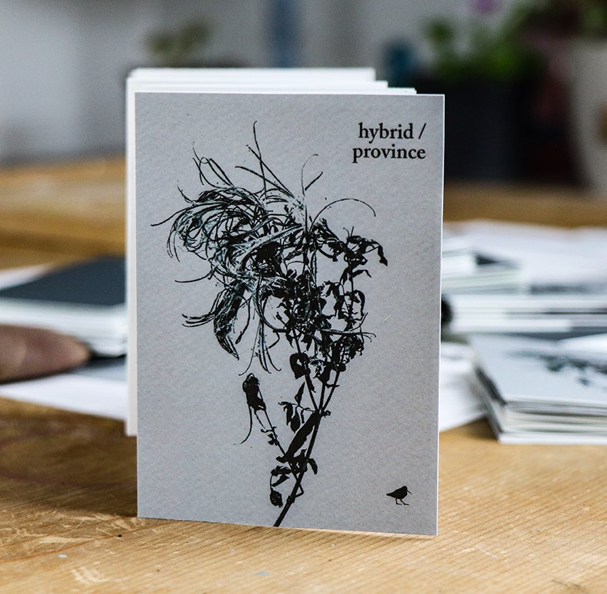 Image of 'Out-siders/' handmade chapbook