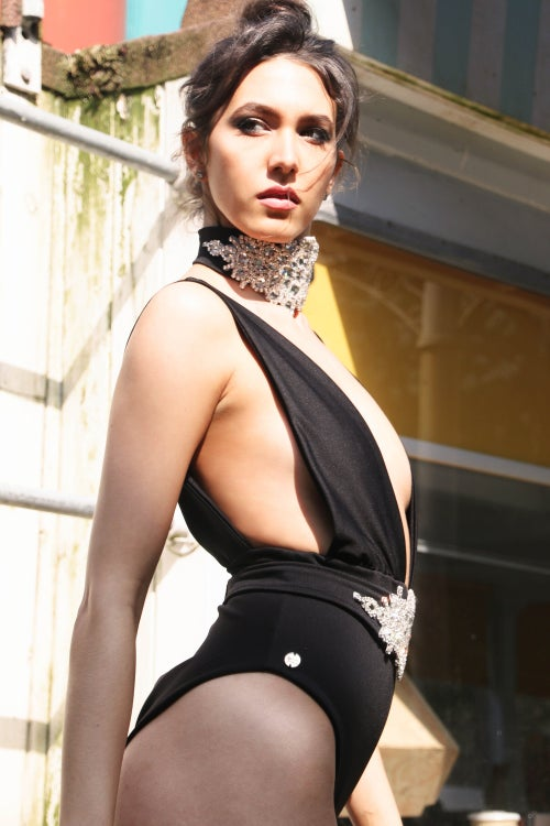 Image of Jacksons Fashion - Black Oppulence Swimsuit