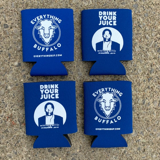 Image of Drink Your Juice EB Koozie