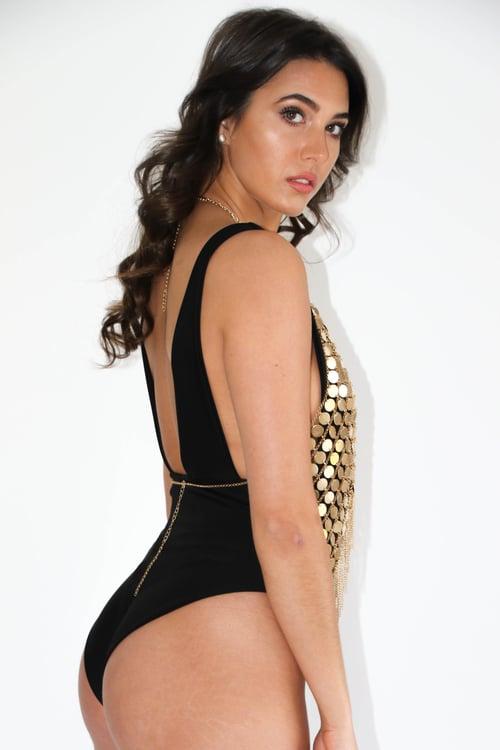 Image of Jacksons Fashion - Black Megan Swimsuit