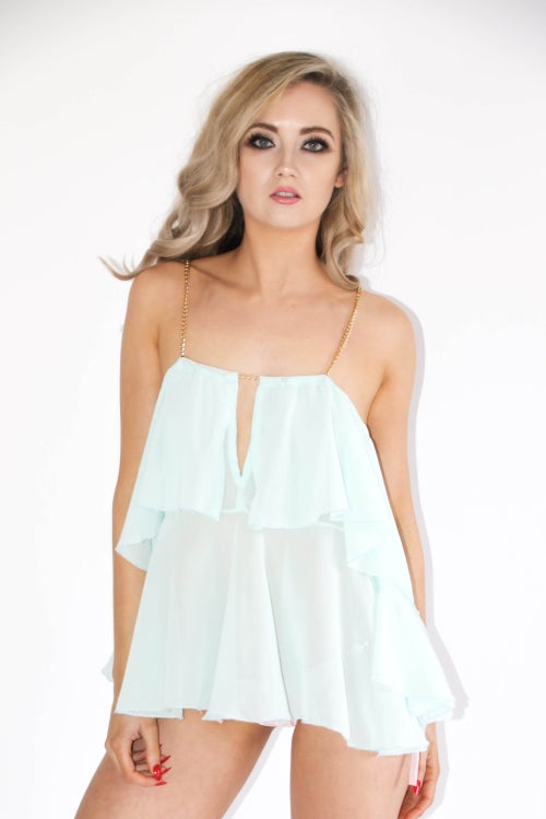 Image of Jacksons Fashion - Mint Swing Cover Up