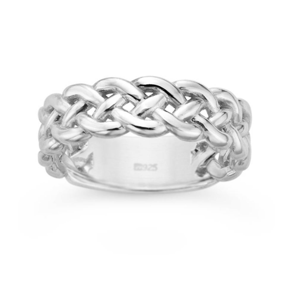 Image of Harbor Knot Ring - Sterling Silver