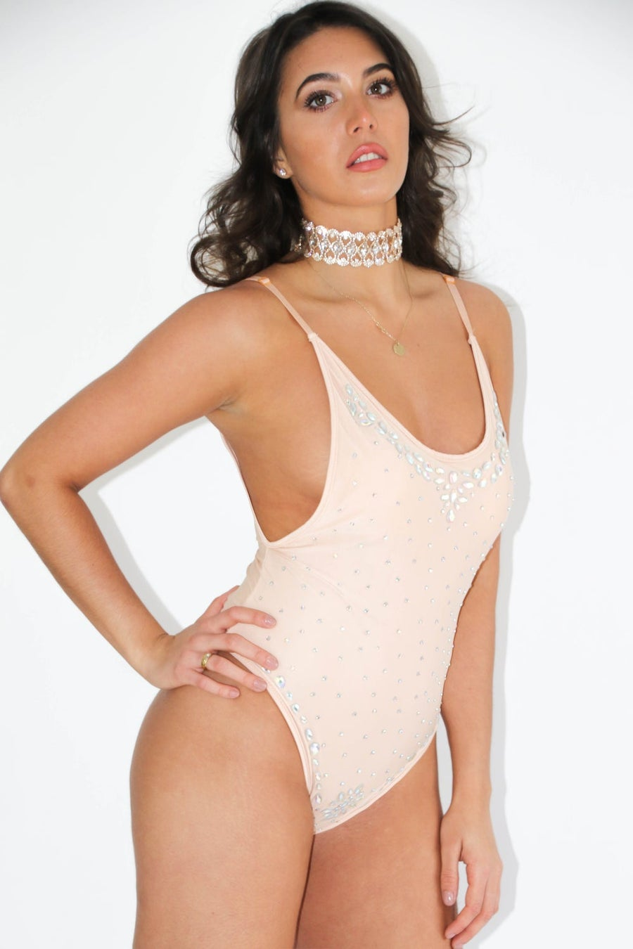 Image of Vegas Swimsuit - Nude