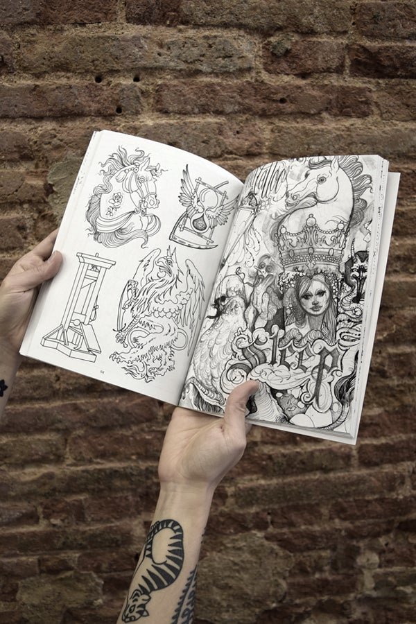 Book of drawings by David Tejero  - proyecto eclipse