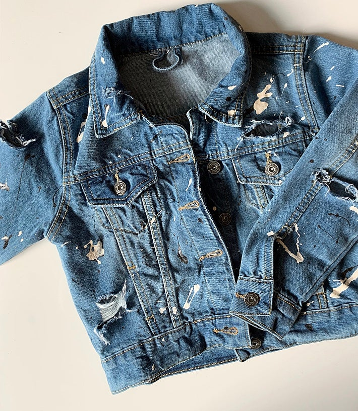 Image of Splat Distressed Jacket