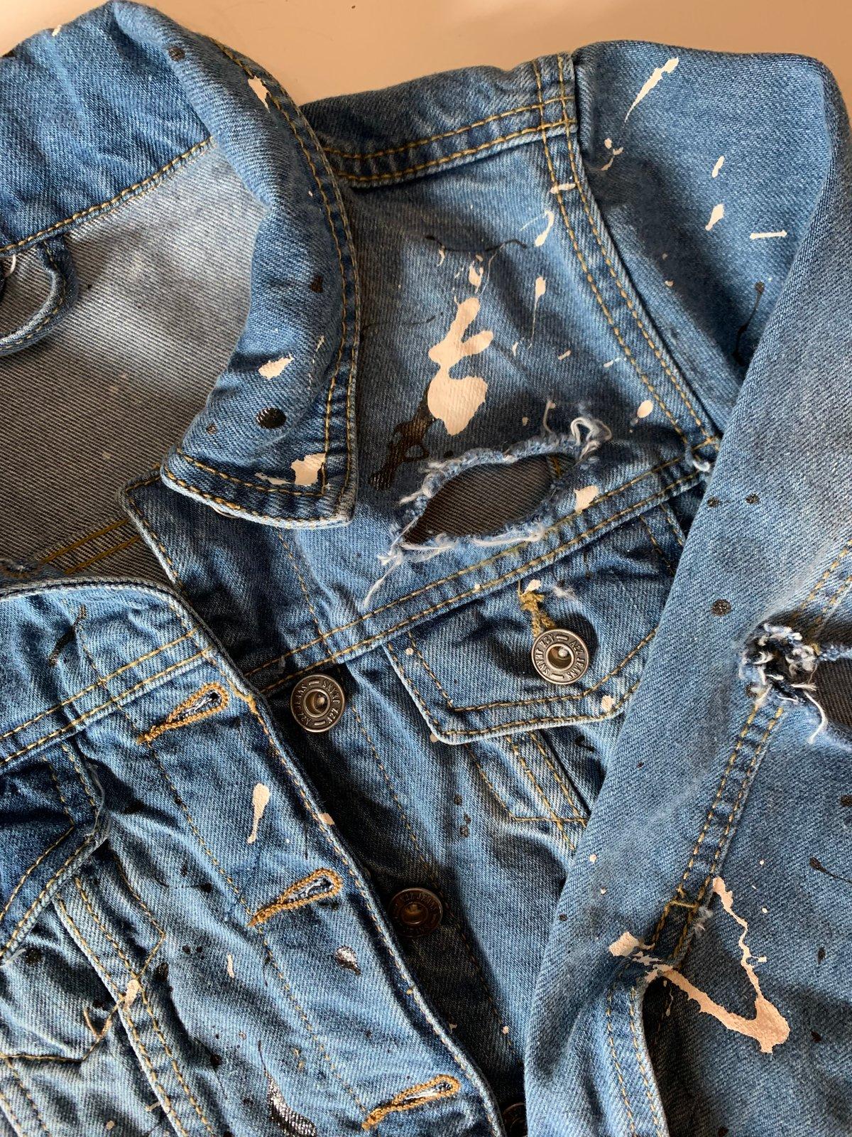 Image of Splat Distressed Jacket