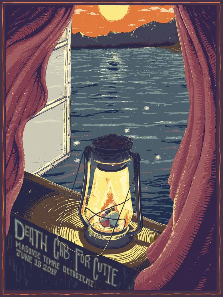 Image of Death Cab for Cutie - Detroit - Masonic Temple - 6.18.19