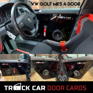 Image of VW Golf MK5 - 4 door - Track Car Door Cards