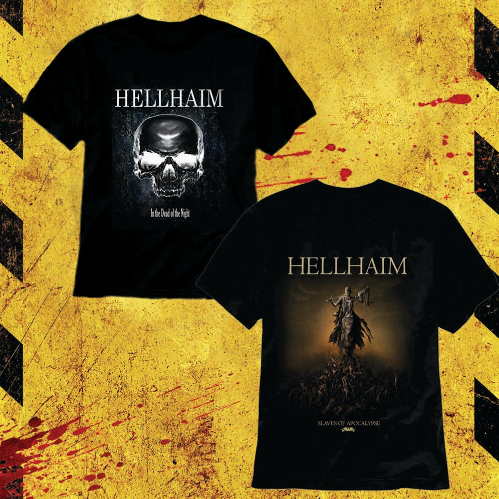 Image of HELLHAIM T-shirt