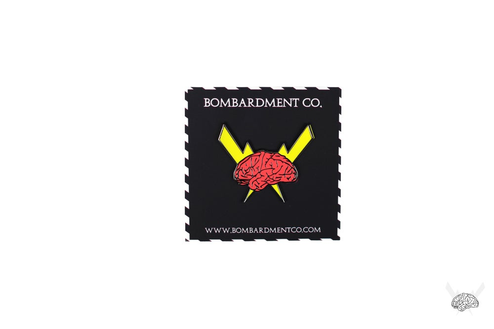 Image of Bombardment Logo Hard Enamel Pin