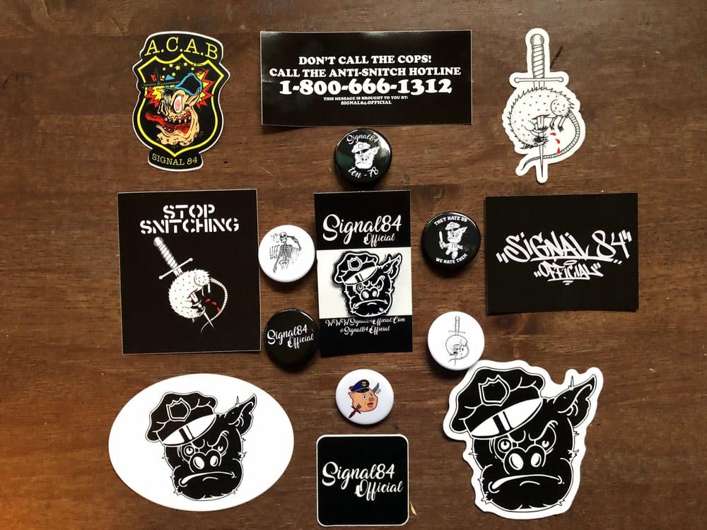 Image of Hatpin / Sticker set