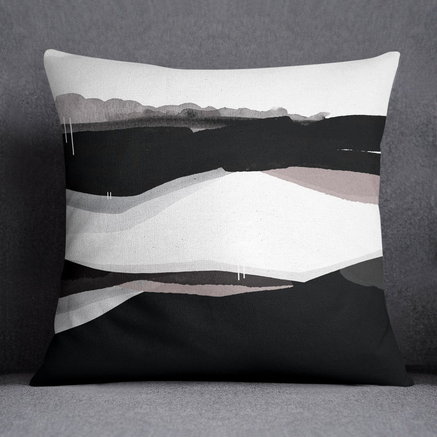 Image of Meander Square Throw Pillow