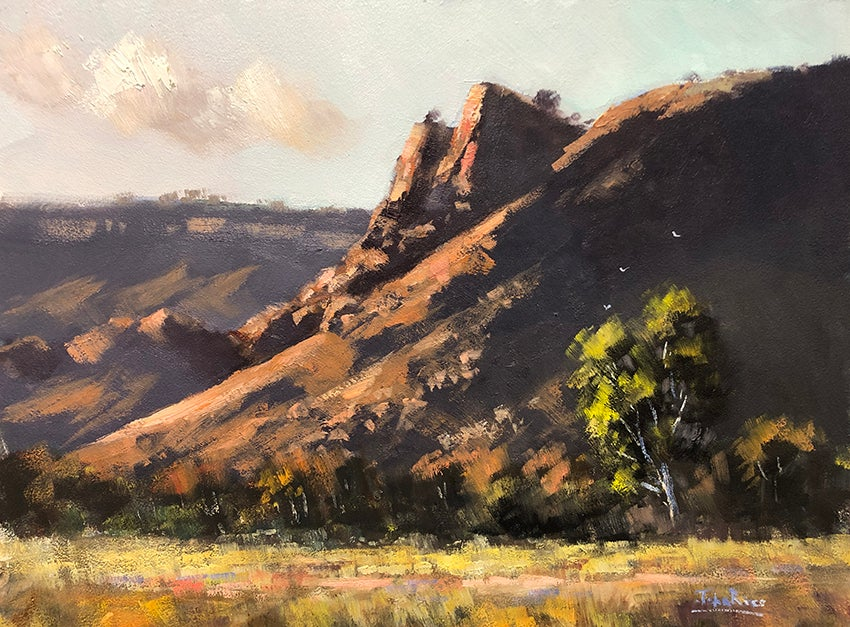 Image of First Light, West MacDonnell Ranges