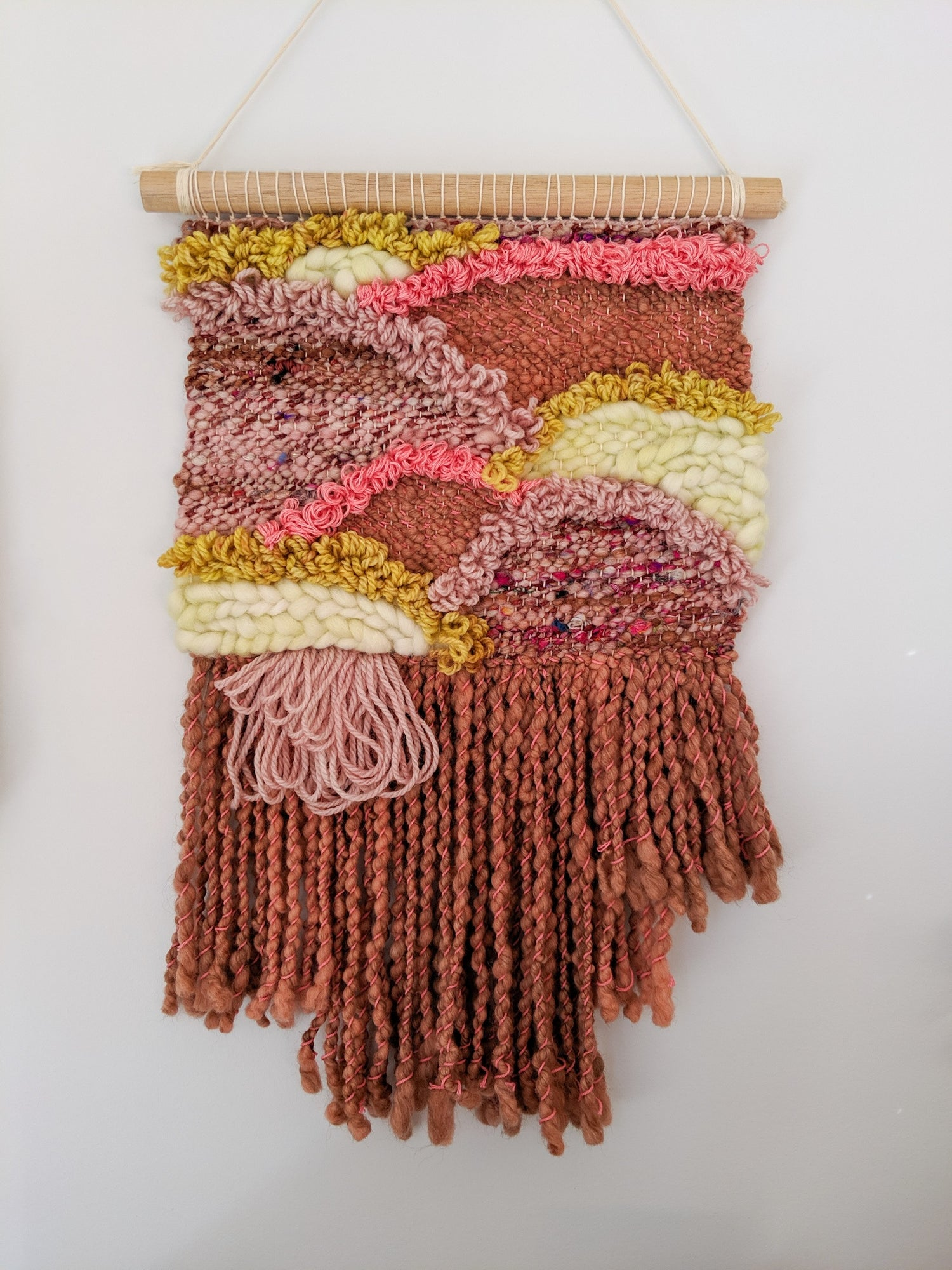 Image of Woven Wall Hanging - ROSA