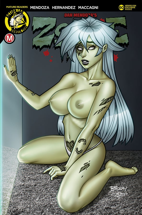 Image of Zombie Tramp #60 Heroes Con Exclusive Set