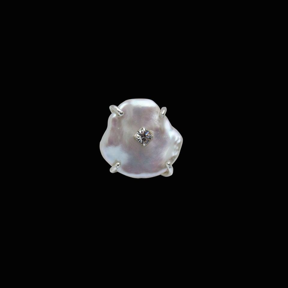 Image of Keshi Pearl Ring