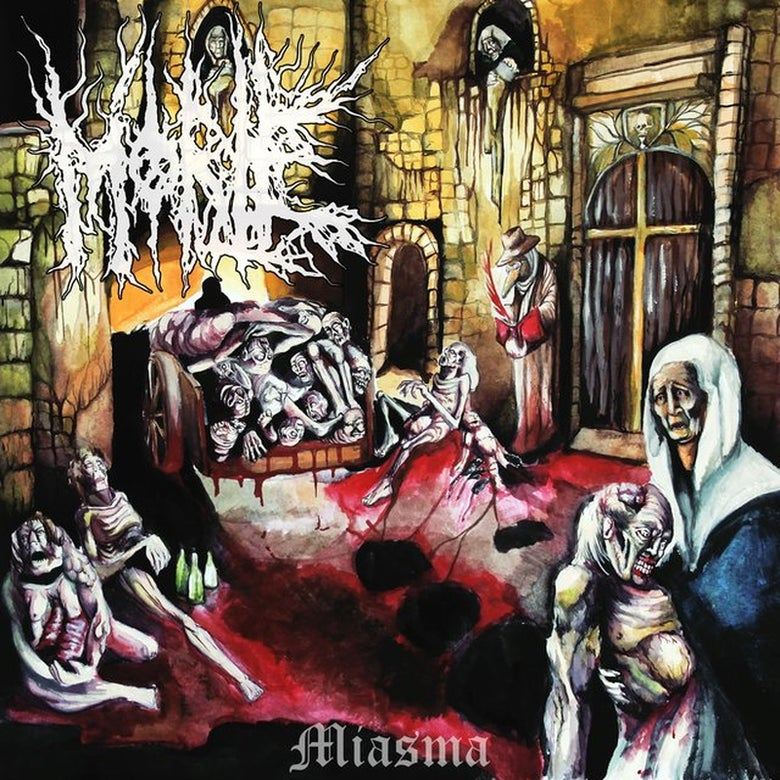 Image of Morte - Miasma CD