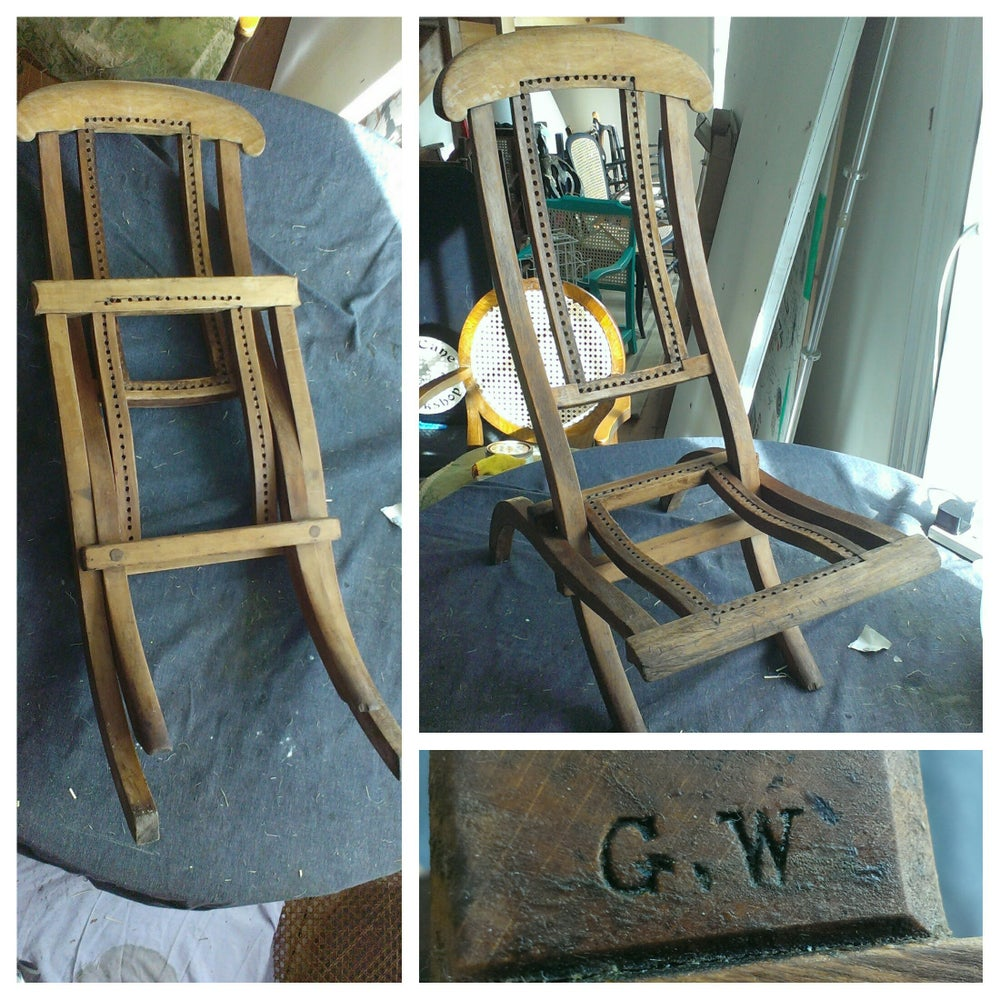 Image of Childs Campaign Folding Chair