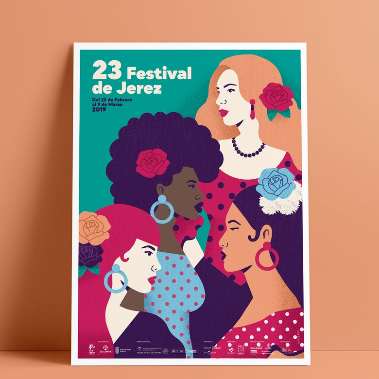 Image of 23 Festival de Jerez / Cartel Oficial