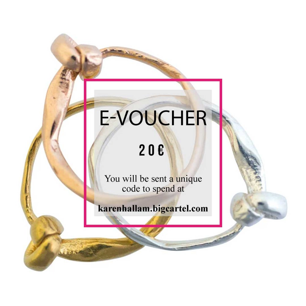 Image of GIFT VOUCHER FOR 20€