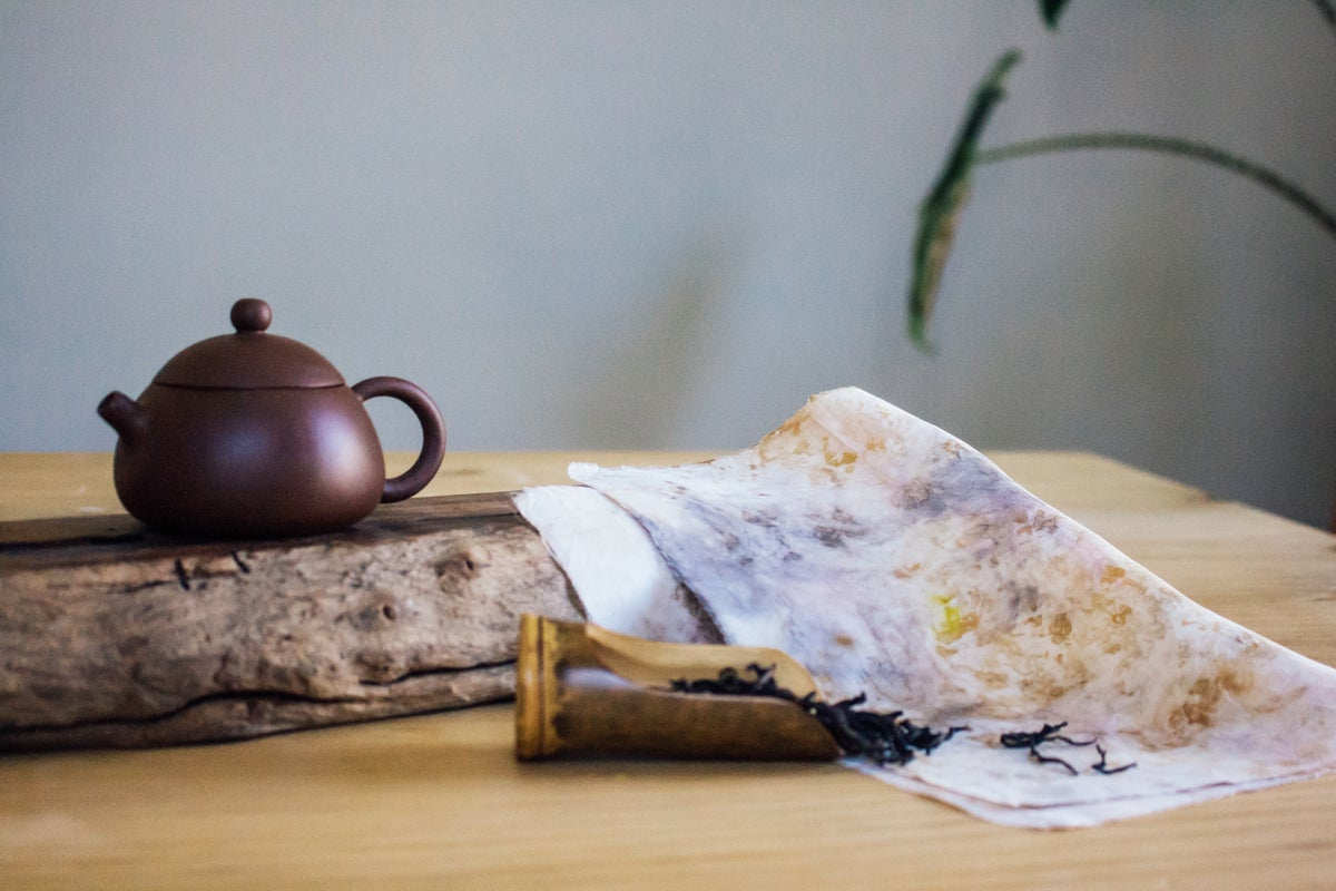 Image of Zen & Dye - Tea Ceremony and Natural Tea Dye Workshop 05/10/2019