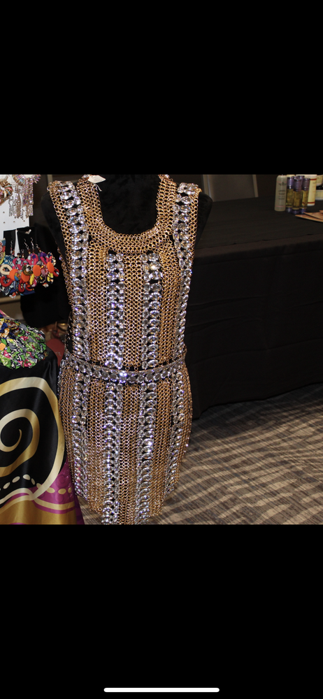 Image of Glamorous Star Couture  Body Chain