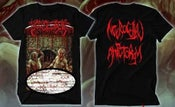 Image of BOWEL STEW-NECROCOITAL AMPUTORGY- T-SHIRT PREORDER