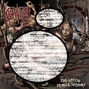 Image of KRAANIUM-THE ART OF FEMALE SODOMY-VINYL LP