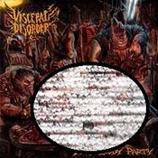 "Image of VISCERAL DISORDER ""DEAD BODY PARTY"" CD"