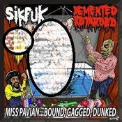 Image of SIKFUK/DEMENTED RETARDED-SPLIT CD-